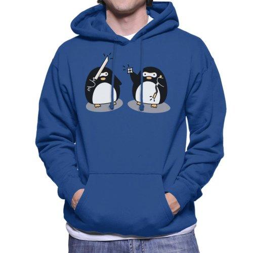 Ninja Penguins Men's Hooded Sweatshirt