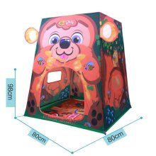 Cute Bear Play Tents Indoor/Outdoor Play Tent Beach Tent for Kids Ideal Gifts