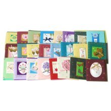 Mini DIY Assortment All Occasion Greeting Cards, Pack Of 24
