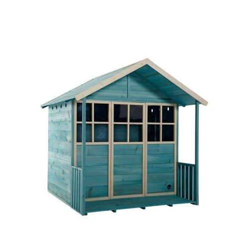 Plum Deckhouse Wooden Playhouse Teal