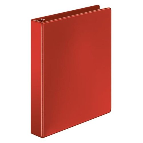 Cardinal 72719 Cardinal Performer Non - Locking Round Ring Binder, 1 in., Assorted Colors, Pack Of 12