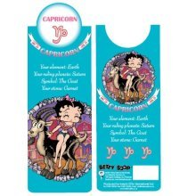 Betty Boop Capricorn Bookmark