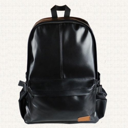 2018 New Leather Unisex Backpack Brand School Laptop Man Backpacks Men Travel Bags Male Shoulder Bag Black Backpack Mochila P052