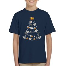 Danger Mouse Christmas Tree Baubles Kid's T-Shirt