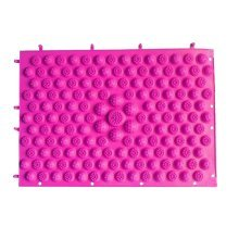 Set of 2 Foot Massager Therapy Mat Foot Massage Pad Shiatsu Sheet [Pink]