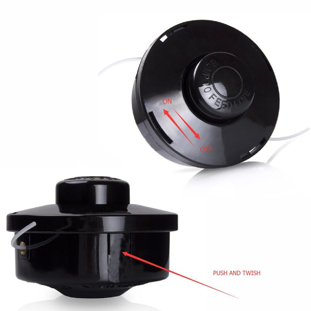 Petrol Strimmer Replacement Bump Feed Line Spool String Trimmer Head