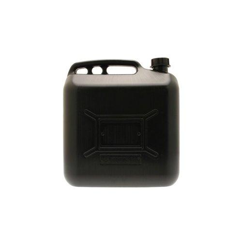 Diesel Fuel Can - Black Plastic - 20 Litre