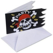 Jolly Roger Invitations & Envelopes  - Accessories RM551943