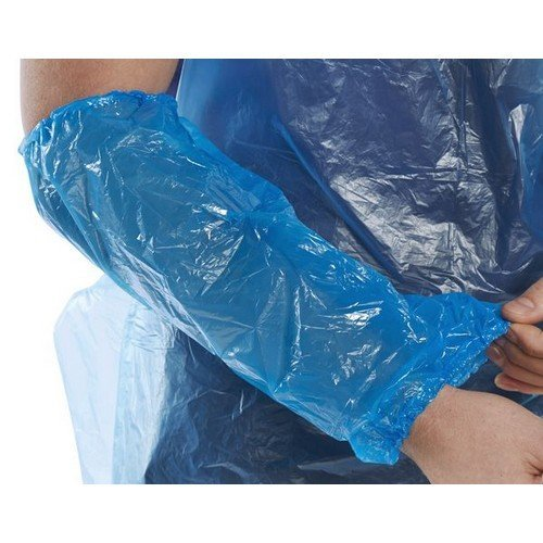 """Click DO14B2 Disposable Oversleeves 14"""" Blue Pack of 2000 Singles"""