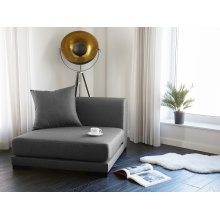 Sofa Middle Section - Settee - Upholstered - Graphite
