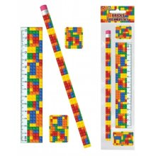 Building Bricks Stationery Set