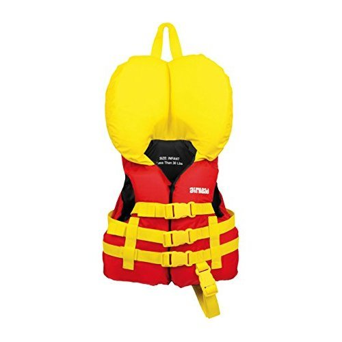 AIRHEAD Infant General Purpose Life Vest, Red
