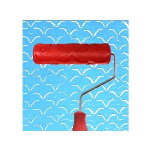 Classical Embossed Paint Roller Wall Painting Runner Wall DIY Tool, Pattern 32