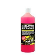 Power Maxed Car Shampoo And Ultra Wax - 1Ltr