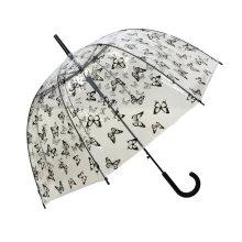 TtKj Folding Umbrella Full-Automatic Folding Open Large Double Windproof Men and Women Reinforced rain-use Umbrella 65105cm