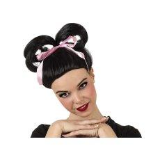 Hair Wig Geisha Girl Black