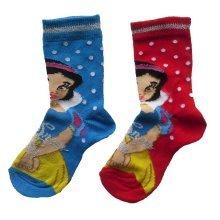Snow White Socks - Pack of 2