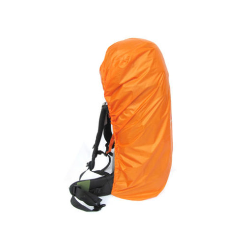 (Orange) Camping/Hiking Water-proof Backpack Rain/Snow Cover, Size L, 70-90L