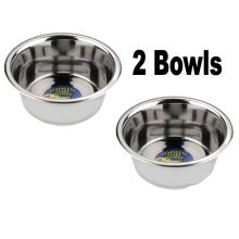 Stainless Steel Dog Bowls 25cm