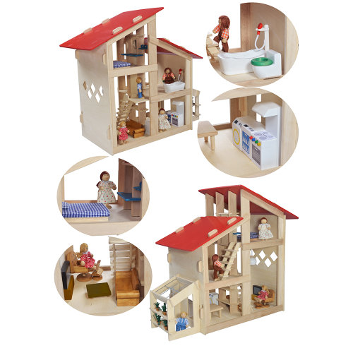 Double Space Doll's House