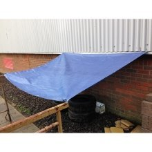 Yuzet Blue Waterproof Tarpaulin Ground Sheet