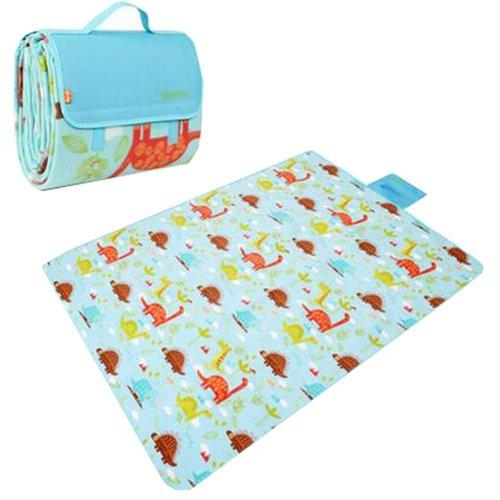 "Waterproof Picnic Blanket Mat/Beach Blanket/Tent Mat/Camping Blanket/Lawn Mat 78.74""x59.05"" (B#01)"