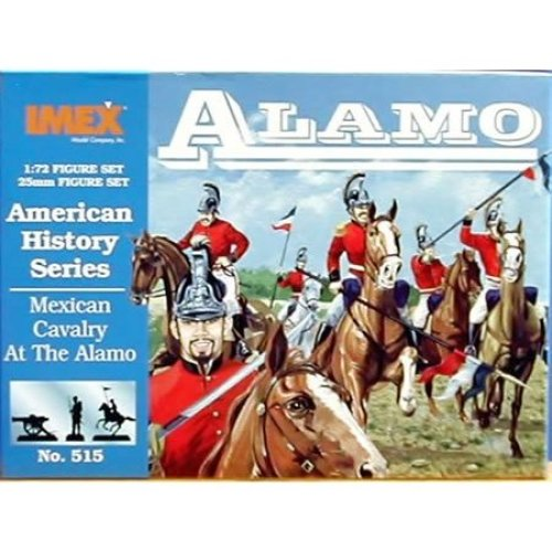 Mexican Cavalry At The Alamo - American History Series - 1/72 Plastic Soldiers by IMEX