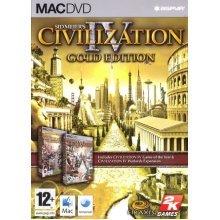 Civilization IV - Gold Edition (Mac CD)