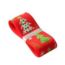 4M Christmas Tree Decor Ornaments [Red, Tree] Gift Wrapping Streamers