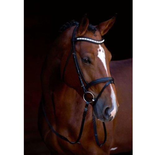 Kerbl Snaffle Bridle Shine-On Leather Pony 323555