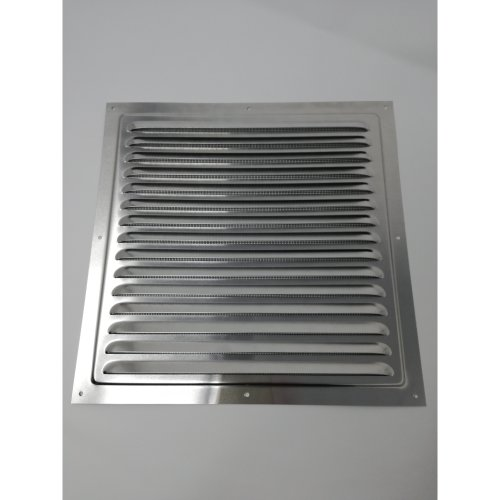 Air Vent Grill - 300 x 300 mm Metal - Aluminium Rust Free with Mosquito / Bug Net