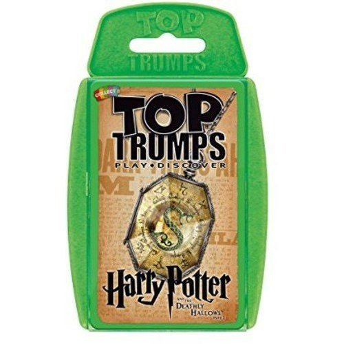 Top Trumps   Harry Potter & The Deathly Hallows Pt 1  Card Game Educatio l Card Game, Green