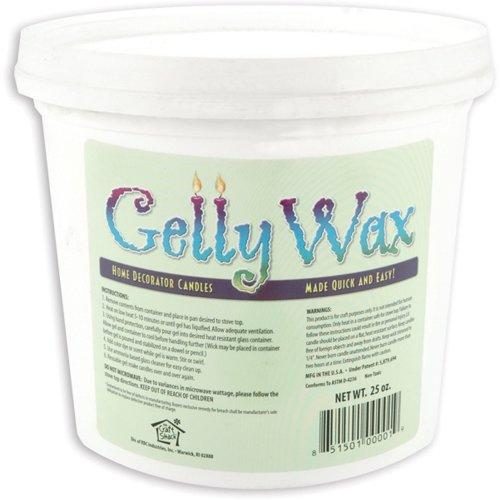 Gelly Candle Wax 25oz-Clear