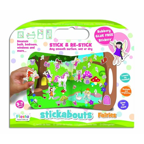 Fairies Stickabouts Activity Stickers
