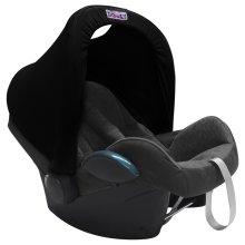 Dooky Dooky Hoody Replacement Infant Car Seat Hood Black