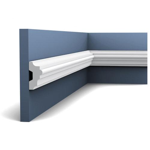 Orac Decor P9040F LUXXUS Flexible Panel Moulding Cornice Stucco | 2 m