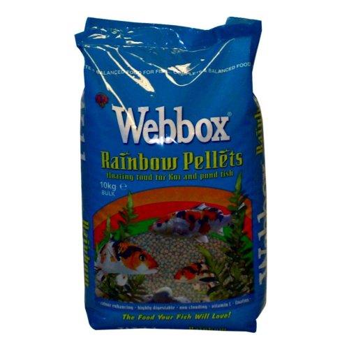 Webbox Rainbow Pond Fish Food Pellets