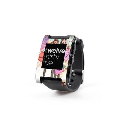 DecalGirl PWCH-GALLARIA Pebble Watch Skin - Gallaria