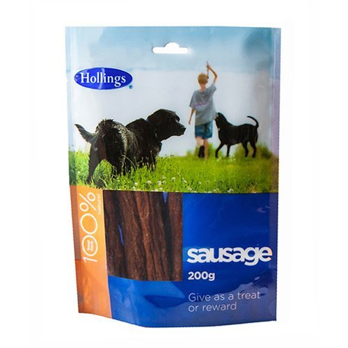 Hollings  Sausage For Dogs 200g x 10