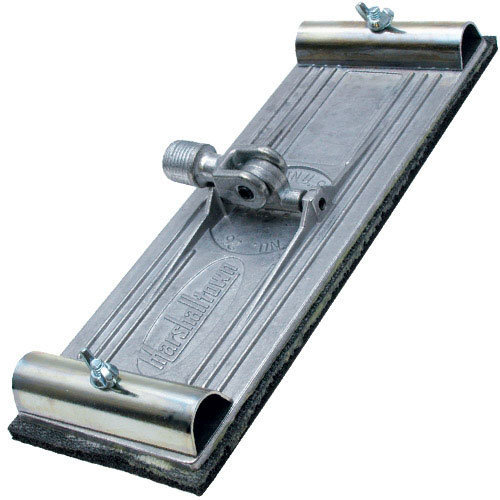 "Marshalltown M26A Universal Swivel Pole Sander 9.3/8"" x 3.1/4"" Use With M28 Handle"
