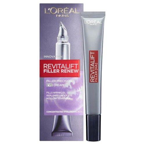 L'Oréal Revitalift Filler Renew Eye Cream | Hyaluronic Acid Eye Cream