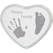 Xplorys Happy Hands Footprint Frame - Silver