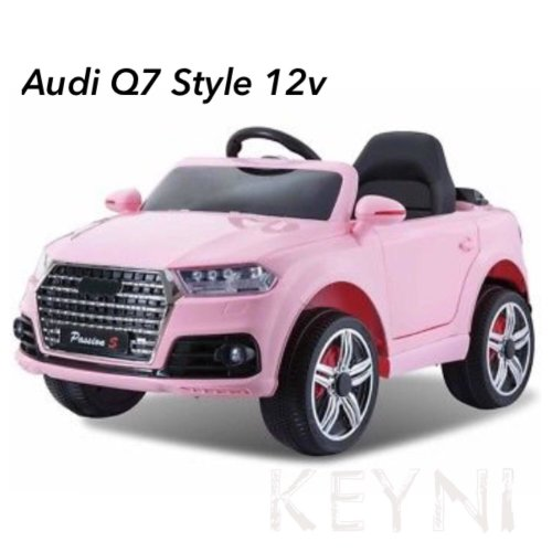 KEYNI 12V BATTERY AUDI Q7 STYLE ELECTRIC KIDS RIDE ON CAR JEEP R/C