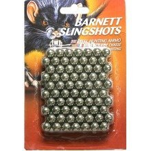 Barnett Slingshot Catapult Ammo - Metal - Pack of 140