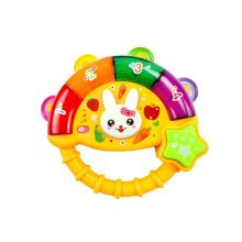 Musical Electric Baby Toys Hand Drum Instrument Percussion Set for Children,Orange