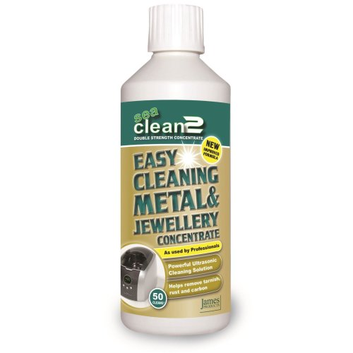 James Products Sea Clean 2 Ultrasonic Cleaner Cleaning Fluid 500ml - 6289