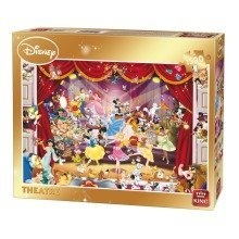 Kng05262 - King Puzzles - Disney 1500 - Theatre