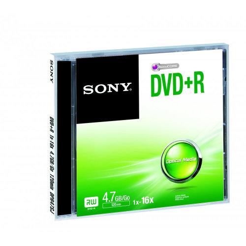 Sony DVD+RSINGLEJEWELCASE