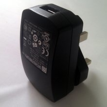Led Lenser Usb Ac Adaptor for X7r  P5r and M7r. 3 Pin Uk Plug