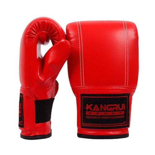 Hot Sale Adult Boxing Gloves Training Gloves RED, Free Size